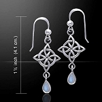 CELTIC WEAVE KNOTWORK EARRINGS