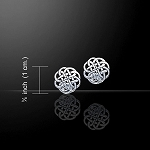 CELTIC KNOTWORK EARRINGS TE458