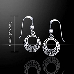 CELTIC KNOTWORK EARRINGS TE815
