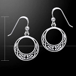Celtic Knotwork Earrings