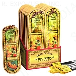 INDIA TEMPLE INCENSE STICKS 50G