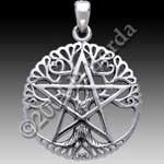 CUT OUT TREE PENTACLE NO WORDS Med