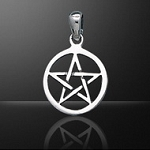 SMALL OPEN PENTACLE