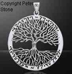 WICCAN TREE OF LIFE w/THEBAN