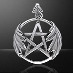 OAK LEAVES PENTACLE