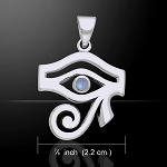 Eye of Horus Gemstone Pendant