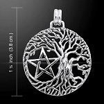 PENTACLE W/TREE OF LIFE