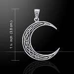 Celtic Cescent Moon
