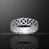 CELTIC KNOTWORK WEDDING RING