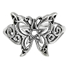 BUTTERFLY PENTACLE RING