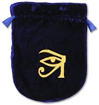 EYE OF HORUS VELVET BAG