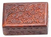 FLORAL CARVED WOODEN BOX 4