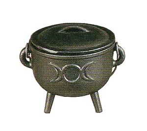 TRIPLE GODDESS CAULDRON MEDIUM
