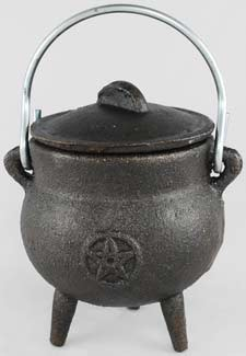 Pentacle Cauldron - Small