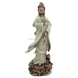 Quan Yin on Lotus Pedestal
