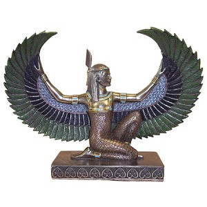 KNEELING WINGED MAAT