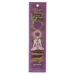 Crown Chakra Sahasrara - Enlightenment 10 Sticks