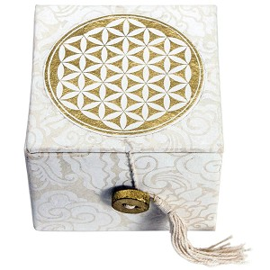 Flower of Life Meditation Bowl Box 3""