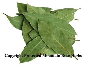 Bay Leaf (whole) Certified Organic & Kosher Certified  1/4 OZ
