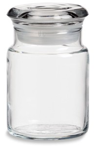 4.5 OZ Jar with Flat Glass Lid