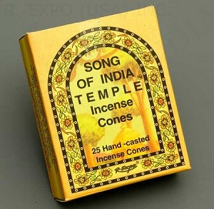 INDIA TEMPLE CONE INCENSE