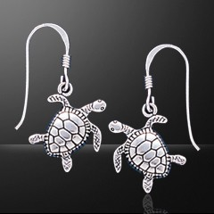 TURTLE EARRINGS DANGLE