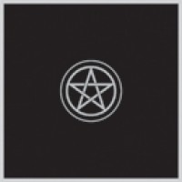 "PENTACLE ALTAR CLOTH-VELVET 32"" X32"""