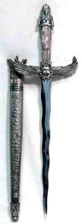 ATHAME: WINGED SCARAB