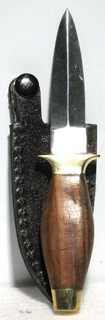 ATHAME: SIMPLE WOOD HANDLE 6""