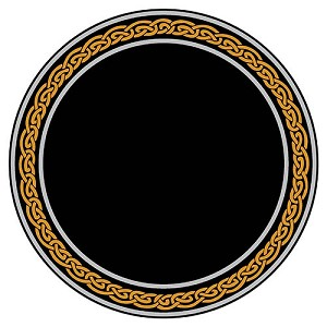 CELTIC KNOT SCRYING MIRROR