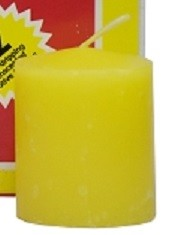 VOTIVE 15 HR YELLOW